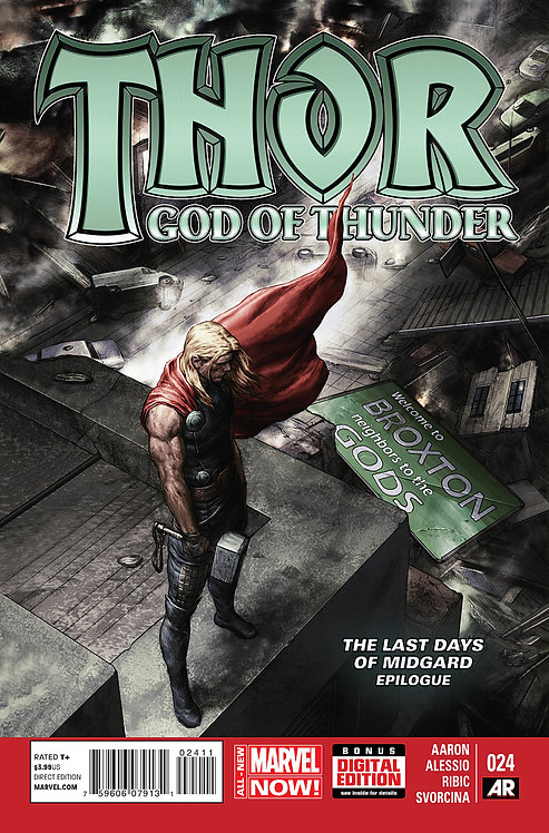 Thor God of Thunder #24