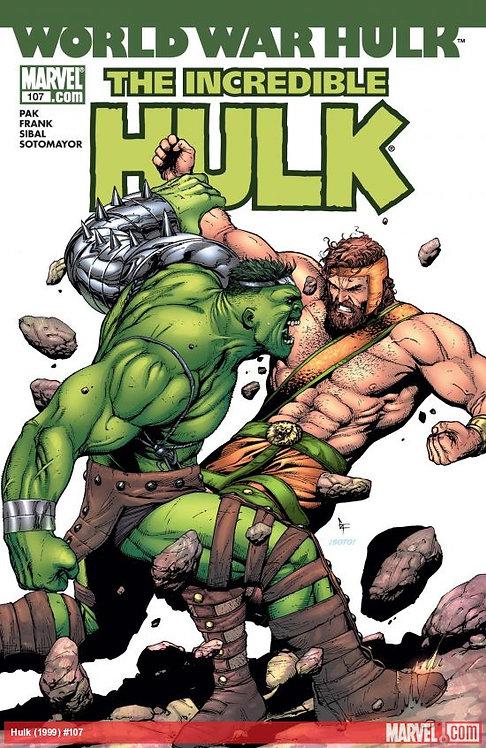 World War Hulk - The Incredible Hulk #107