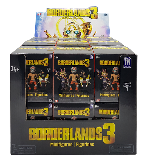 BORDERLANDS 3 Minifigures in Blind Box
