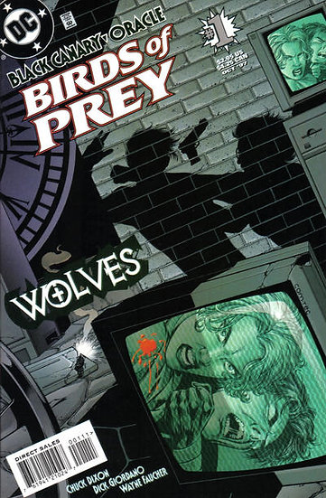 Birds of Prey Wolves #1 - 1996