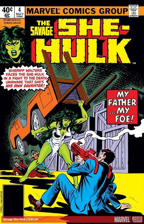 The Savage She-Hulk #4 - 1980