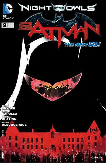 BATMAN #9 New 52