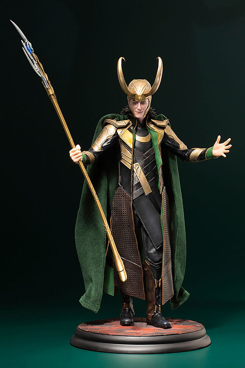 Marvel Avengers Movie Loki Artfx Statue Statue