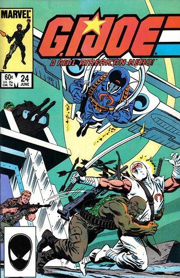 G.I.JOE a real american hero #24