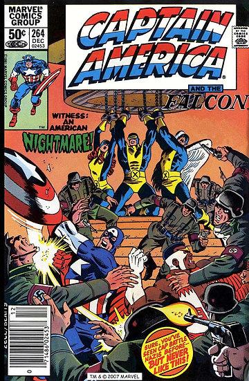 Captain America #264