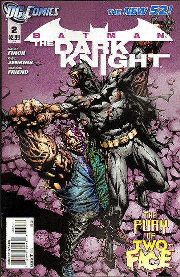 Batman - The Dark Knight #2 The Fury of Two Face