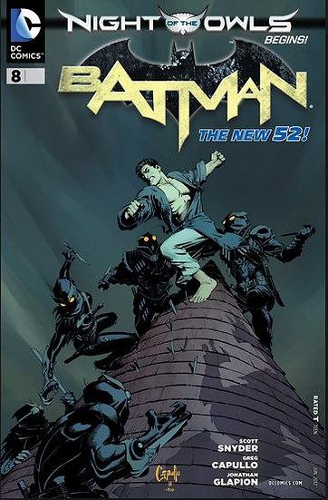 BATMAN #8 New 52