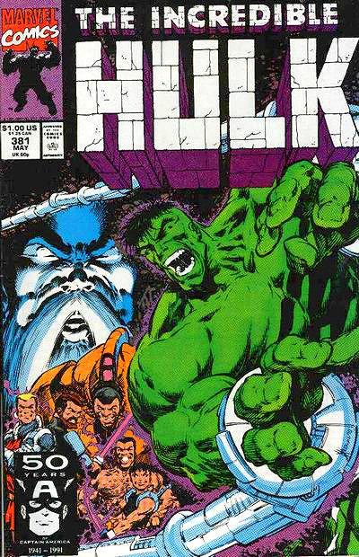 The Incredible Hulk #381