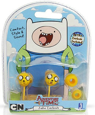 """Adventure Time Jake Earbuds """"Headphones"""""""