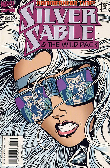 Silver Sable - and the wild pack #33