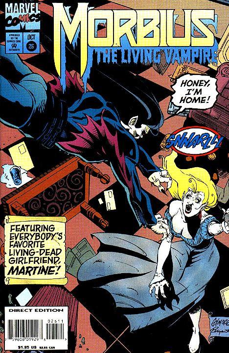 Morbius The Living Vampire #26