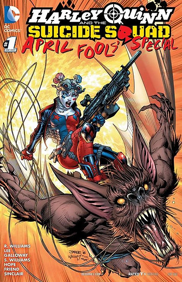 Harley Quinn and the Suicide Squad April Fools Special #1