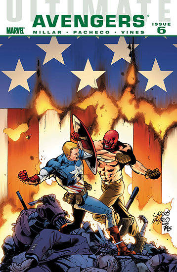 Ultimate Avengers Issue 6