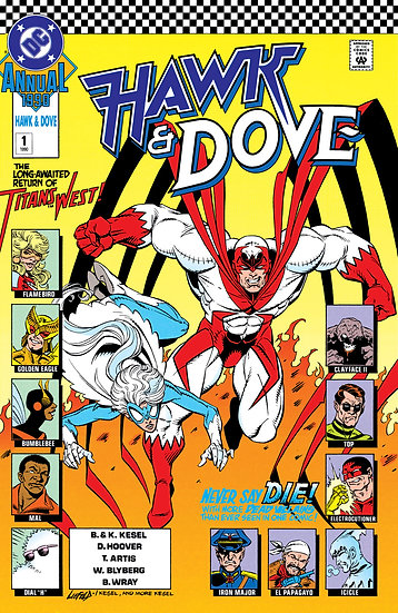 Hawk and Dove Annual #1 - 1990