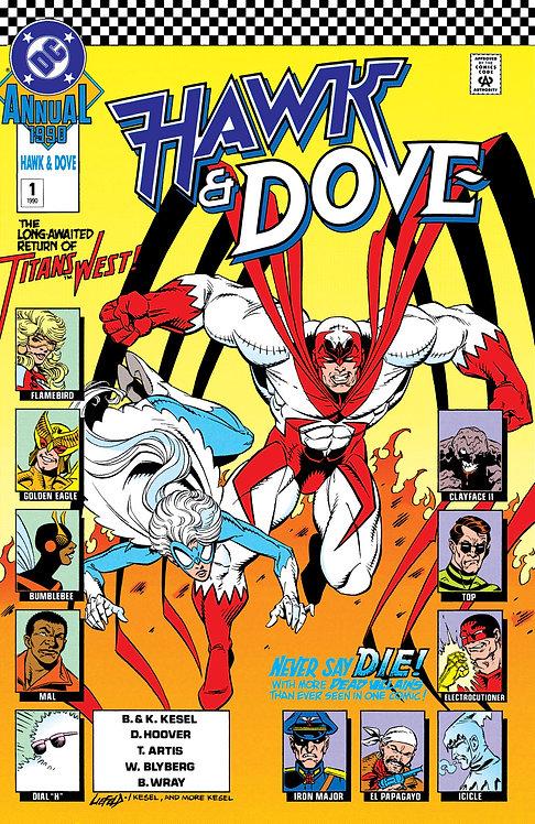 Hawk and Dove Annual #1 - 1990