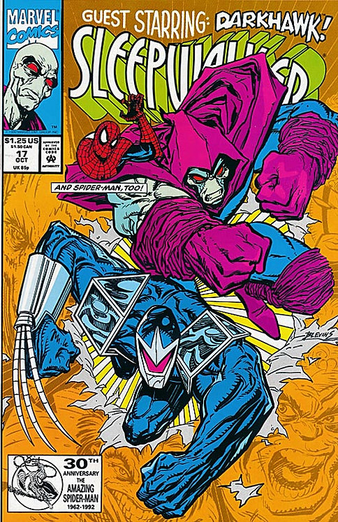 Sleepwalker #17 - 1992