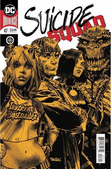 Suicide Squad #47 Gold Foil Cover