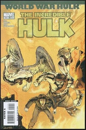 World War Hulk - The Incredible Hulk #111