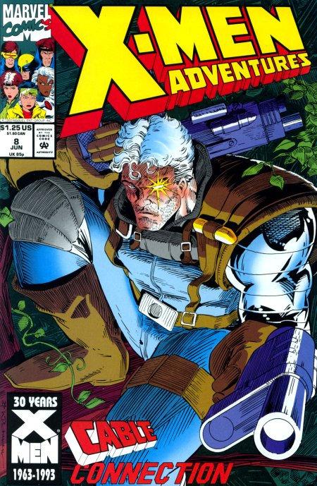 X-Men Adventures #8 - 1993