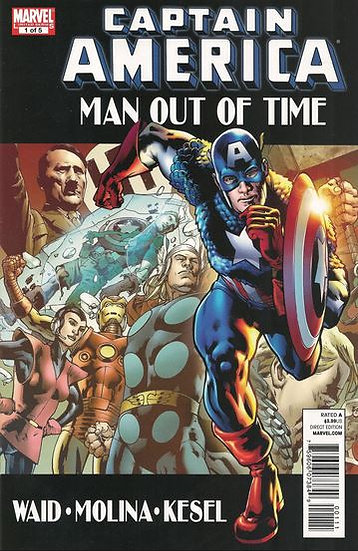 Captain America - Man out of Time part 1