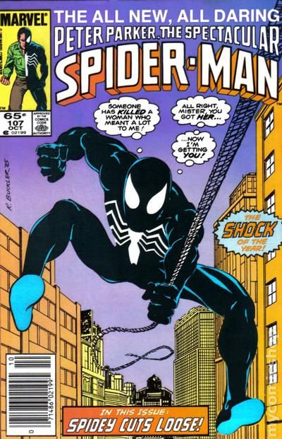 The Spectacular Spider-Man #107 -First Appearance Sin Eater