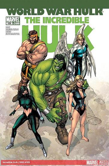 World War Hulk - The Incredible Hulk #109