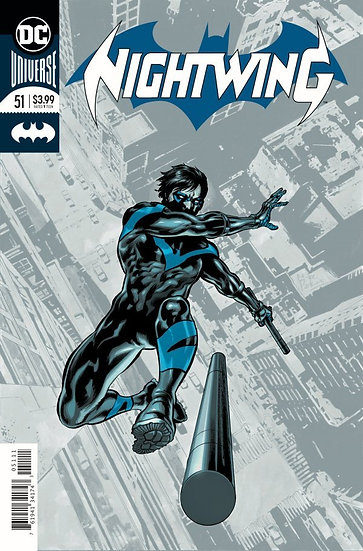 Nightwing #51 Silver Foil Cover