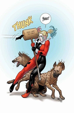 Harley Quinn #52 Variant Cover