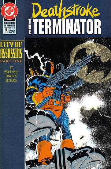 Deathstroke The Terminator #6 - 1992