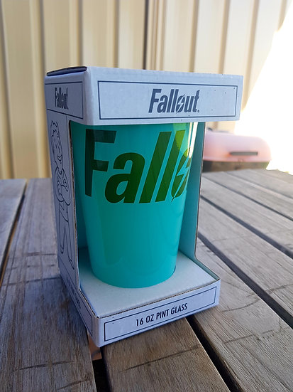 Fallout Pint Glass 16oz