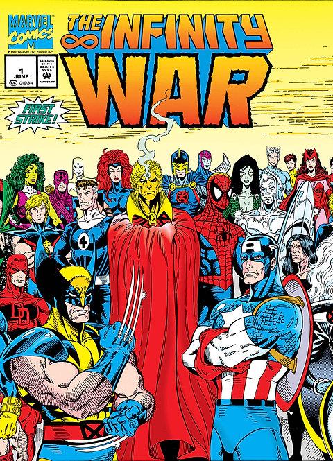 True Believers Infinity War #1