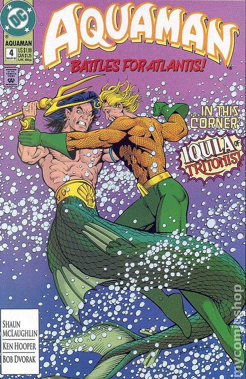 Aquaman #4 1992
