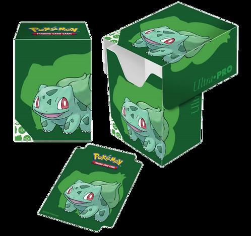 ULTRA PRO Pokémon – Full View Deck Box- Bulbasaur