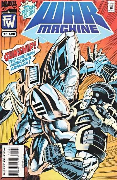 War Machine #13 - 1995