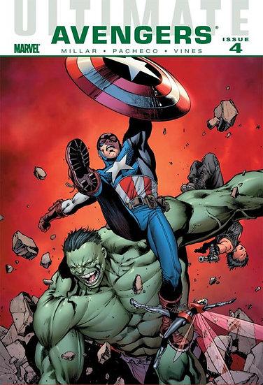 Ultmate Avengers Issue 4