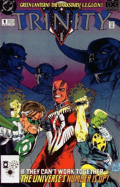 Trinity #1 Foil Cover - 1993