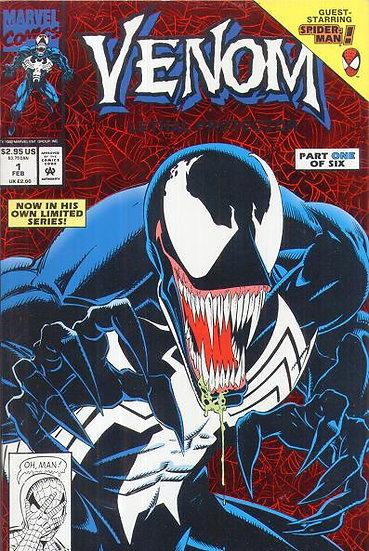 Venom Lethal Protector #1 (First Venom titled series)