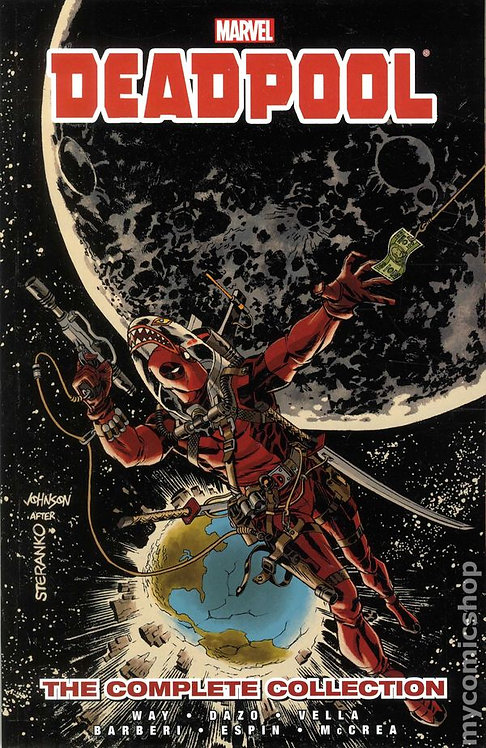Deadpool Complete Collection Vol 3 By Daniel Way