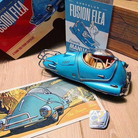 Fallout - Fusion Flea Die-Cast 1/18 Scale Vehicle Replica
