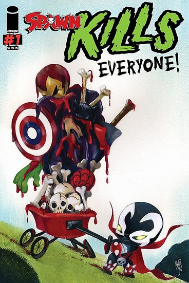 Spawn Kills Everyone One Shot - Variant Cover
