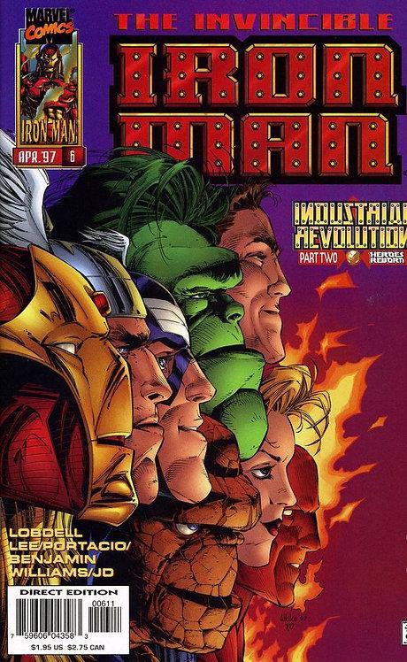 IronMan #6 nov 96