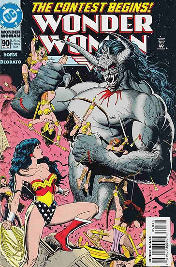 Wonder Woman #90 - First Appearance of Artemis - 1994