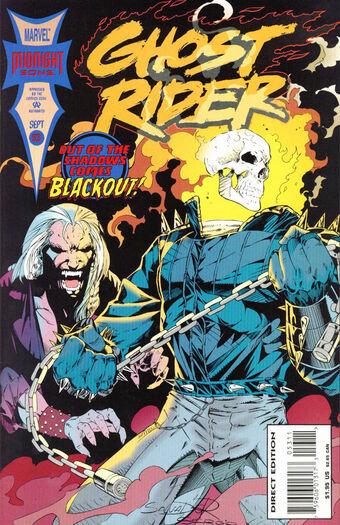 Ghost Rider #53 (midnight sons)