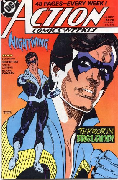 Action Comics Nightwing #627