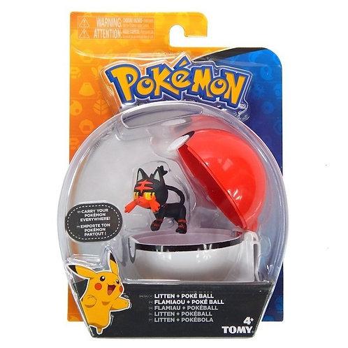 Pokemon Litten + PokeBall