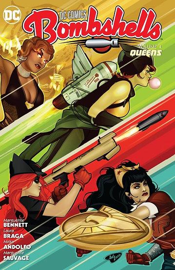 DC Comics - Bombshells Vol 4 Queens