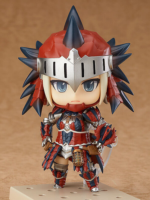 MONSTER HUNTER: WORLD Nendoroid Hunter: Female Rathalos Armor Edition
