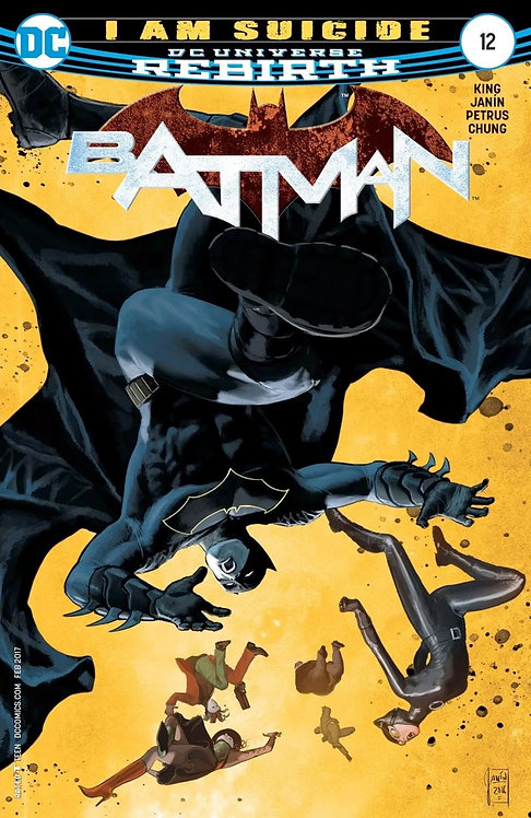Batman Rebirth #12