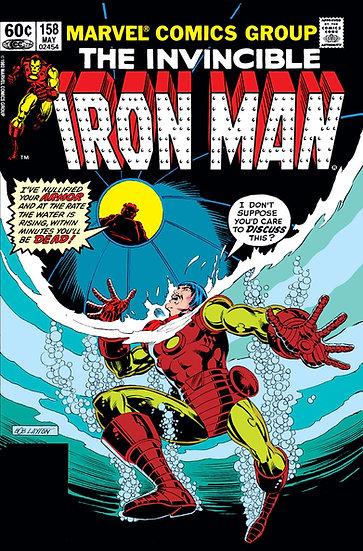 The Invincible Iron Man #158 1982