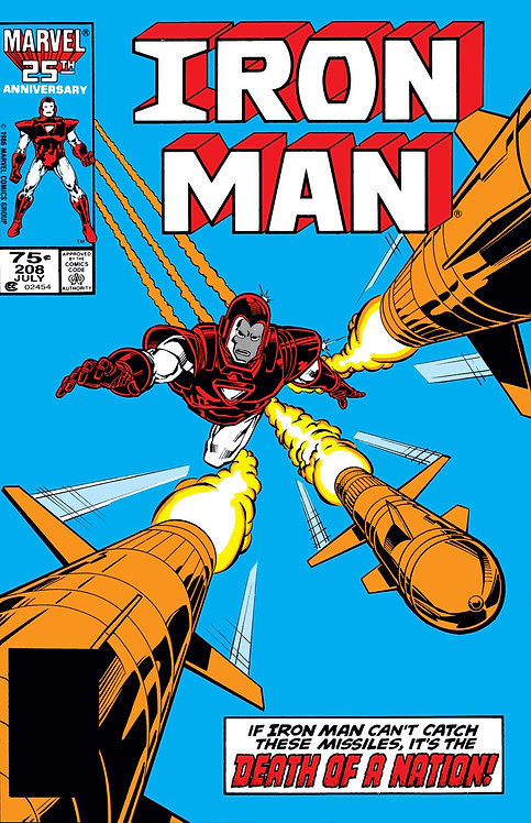 Iron Man #208 - 1986